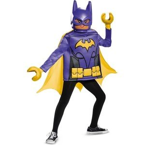 LEGO Batgirl Costume Batman Superhero Small (4-6x)